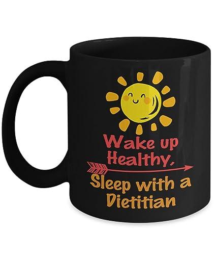 sleep with a dietitian coffee mug wake up healthy mug best gifts ideas for