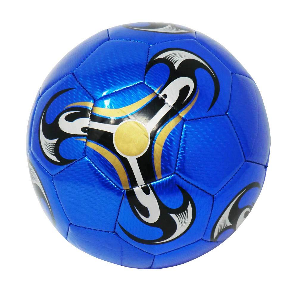 Balón De Fútbol Talla 5 Diseño Clásico (Color: Rojo): Amazon.es ...