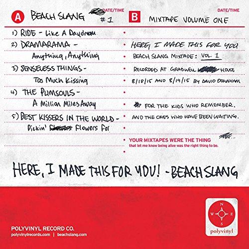 Cassette : Beach Slang - Here I Made This For You (beach Slang Mixtape, Vol. 1) (Colored Vinyl, Blue)