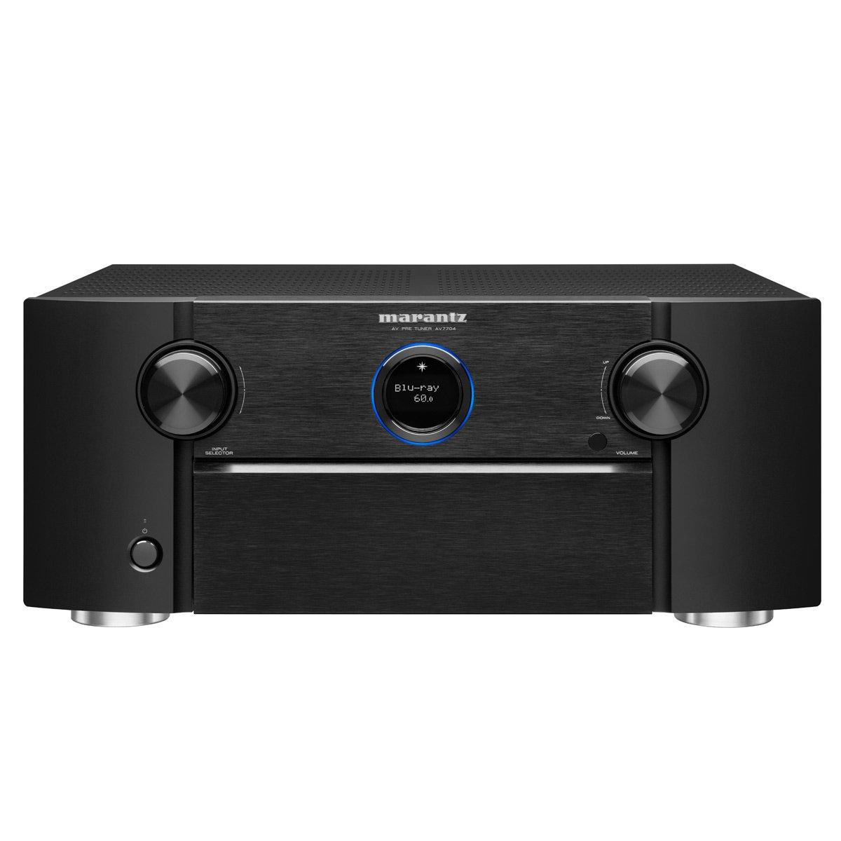 Marantz Pre-Amplifier Audio Component Amplifier Black (AV7704) by Marantz