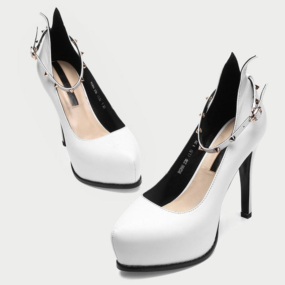 DKFJKI Damen Flacher Leder High Heels Flacher Damen Mund Wortschnalle mit Niedrigen Schuhen Schwarze Arbeitsschuhe Kleid f0c17e