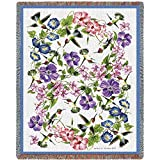 Pure Country Weavers ''Hummingbirds Blanket'' Tapestry Throw
