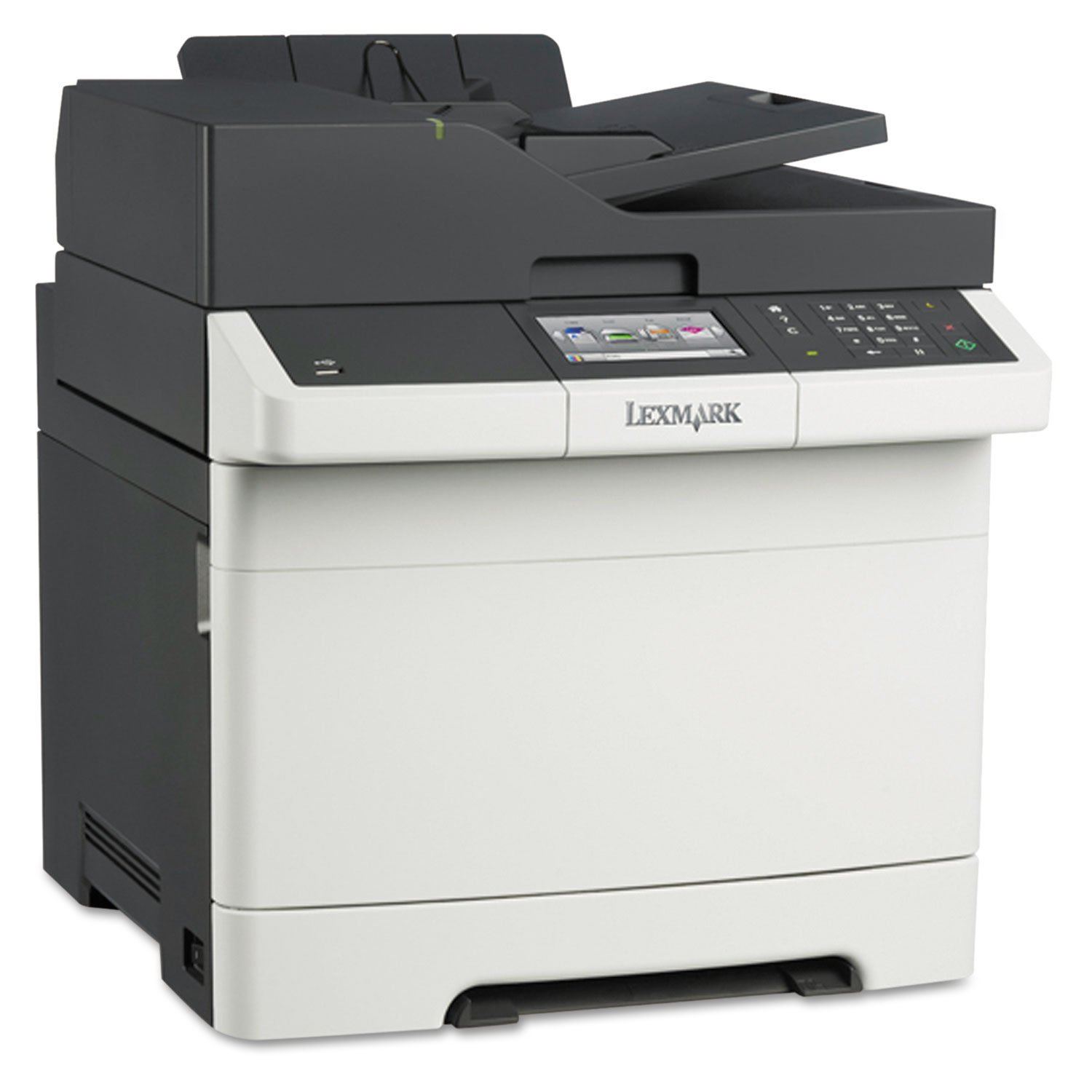 Amazon.com: Lexmark CX410e Color All-In One Laser Printer with Scan, Copy,  Network Ready and Professional Features: Electronics