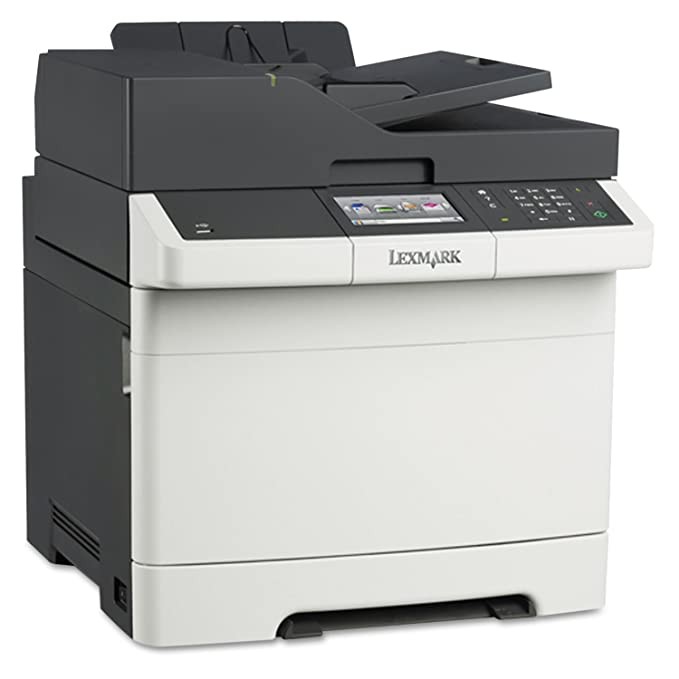 amazon com lexmark cx410e color all in one laser printer with scan rh amazon com Lexmark Multifunction Printer Lexmark Printer Help
