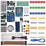 Utini WeiKedz 2019 UNO Project The Most Complete Starter Kit for Arduino UNO R3 with Tutorial /1602 LCD/UNO R3/Resistor