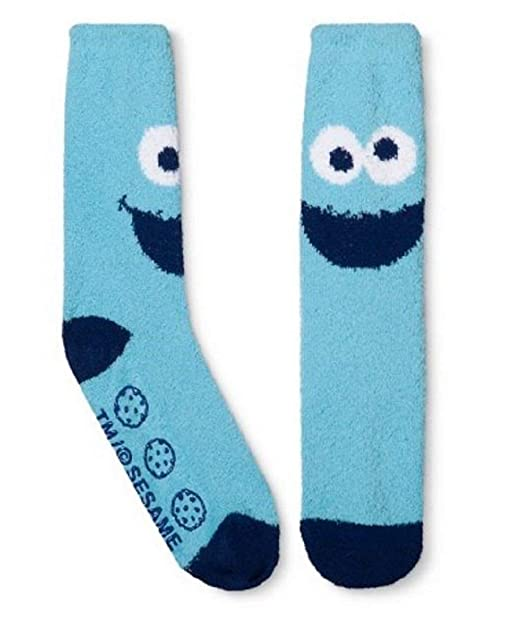 2f9736c3d5a49 Cookie Monster Slipper Socks One Size Fits Most at Amazon Women's ...