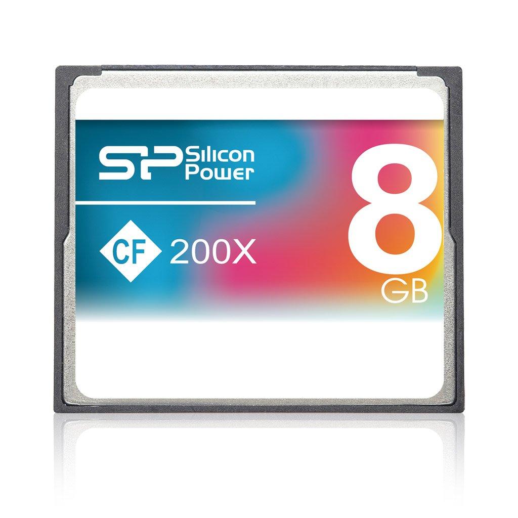 Silicon Power Carte Mémoire CompactFlash 200x 8 Go by Silicon Power (Image #1)