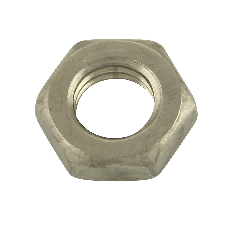 5 St/ück Edelstahl A2 V2A Mutter | DIN 439 Standard Ausf/ührung BiBa-Schrauben Sechskantmutter niedrige Form M16 Sechskant-Mutter
