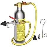 Goplus A/C AC Flush Kit, Heavy-Duty & Safety Air Conditioner System Flush Gun Kit, Car Cleaning Tool Kit for R134 R12 R22 R410 R404, AC Flushing Kit