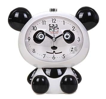 Amazon.com: Cute Panda-Shaped Alarm Clock For Kids With Night ...