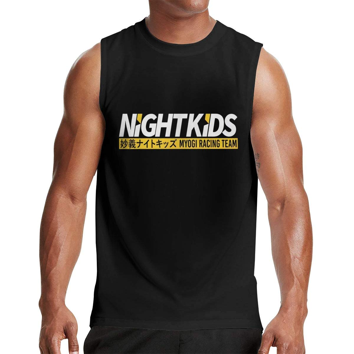 S Tjsports Myogi Night Racing Team Initial D Anime Manga Ts Shirts