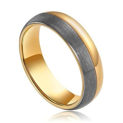 Edelstahl Ring Modeschmuck Silber Gold