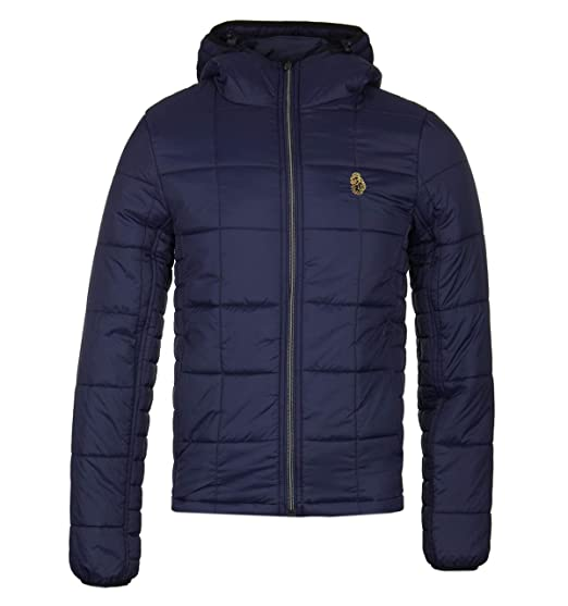 f303e4a952a7 LUKE 1977 Mens Southy Zip Through Lightweight Quilted Puffer Jacket  Amazon. co.uk  Clothing