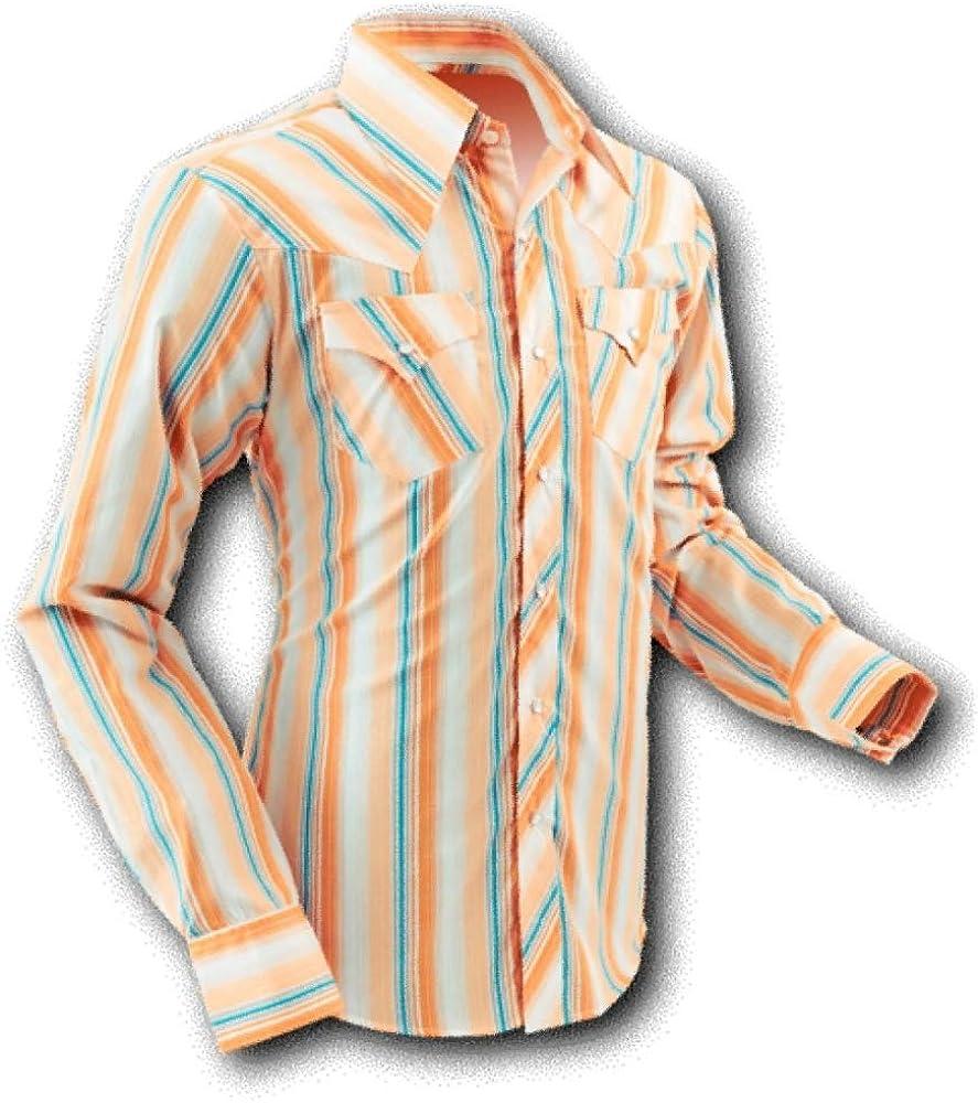 chena Esquí Camisa, Cowboy Crema Stripes, Retro Beige XL: Amazon.es: Ropa y accesorios