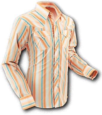 chena Esquí Camisa, Cowboy Crema Stripes, Retro Beige XL ...