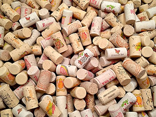 COLOR Wine Corks | Brand New, Authentic, All Natural | Printed, Winery-Marked, Craft Grade | Uncirculated, Uniform & Clean | Excellent for Crafting & Decor | Pack of 25/50/100 Premium Wine Cork (50) by Omni Trading Worldwide (Image #2)'