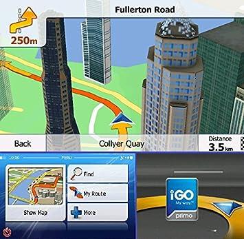 IGO Primo Europe Map GPS Navigation Software On MicroSDSD - Igo sd card us map download