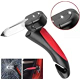 Twiclo Car Cane Auto Handgreep Cane Handle Flashlight seat Belt Cutter Glass Breaker Mobility Standing Aid