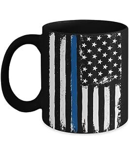 2a9a6fa1d2b3 Thin Blue Line Coffee Mug