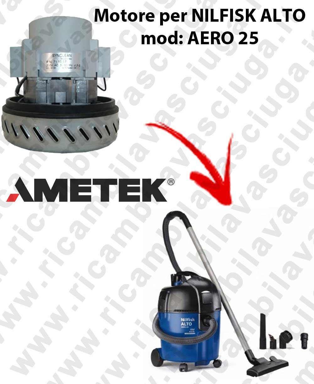 Aero 25 – Motor aspiración para aspiradora Nilfisk Alto: Amazon.es ...
