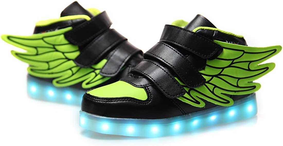 USB Rechargeable DoGeek pour Fille Gar/çon Enfant Basket LED Chaussure Basket Lumineuse
