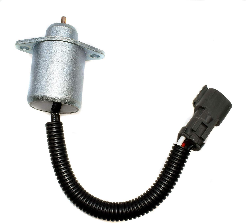 Diesel Fuel Shutoff Stop Shut Off Solenoid CAT Skid Steer For Perkins 2848A278