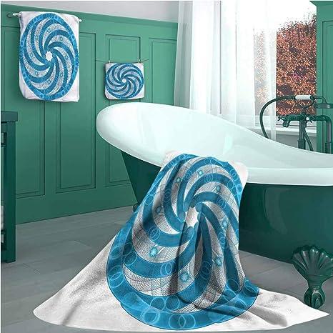 Juego de toallas de playa de España, diseño de playa distante ...