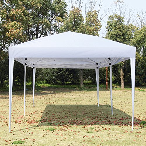 NSDirect 10 x 10 ft Outdoor Party Tent Easy Pop Up Canopy with Carrying image