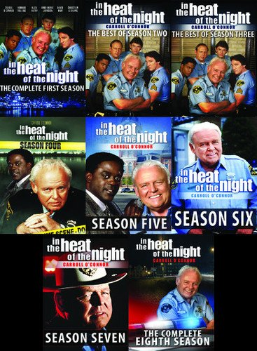In The Heat of the Night: The Series Collector's Edition - The Best of all 8 Seasons - 34 DVDs - 119 Episodes (In The Heat Of The Night Complete Series)