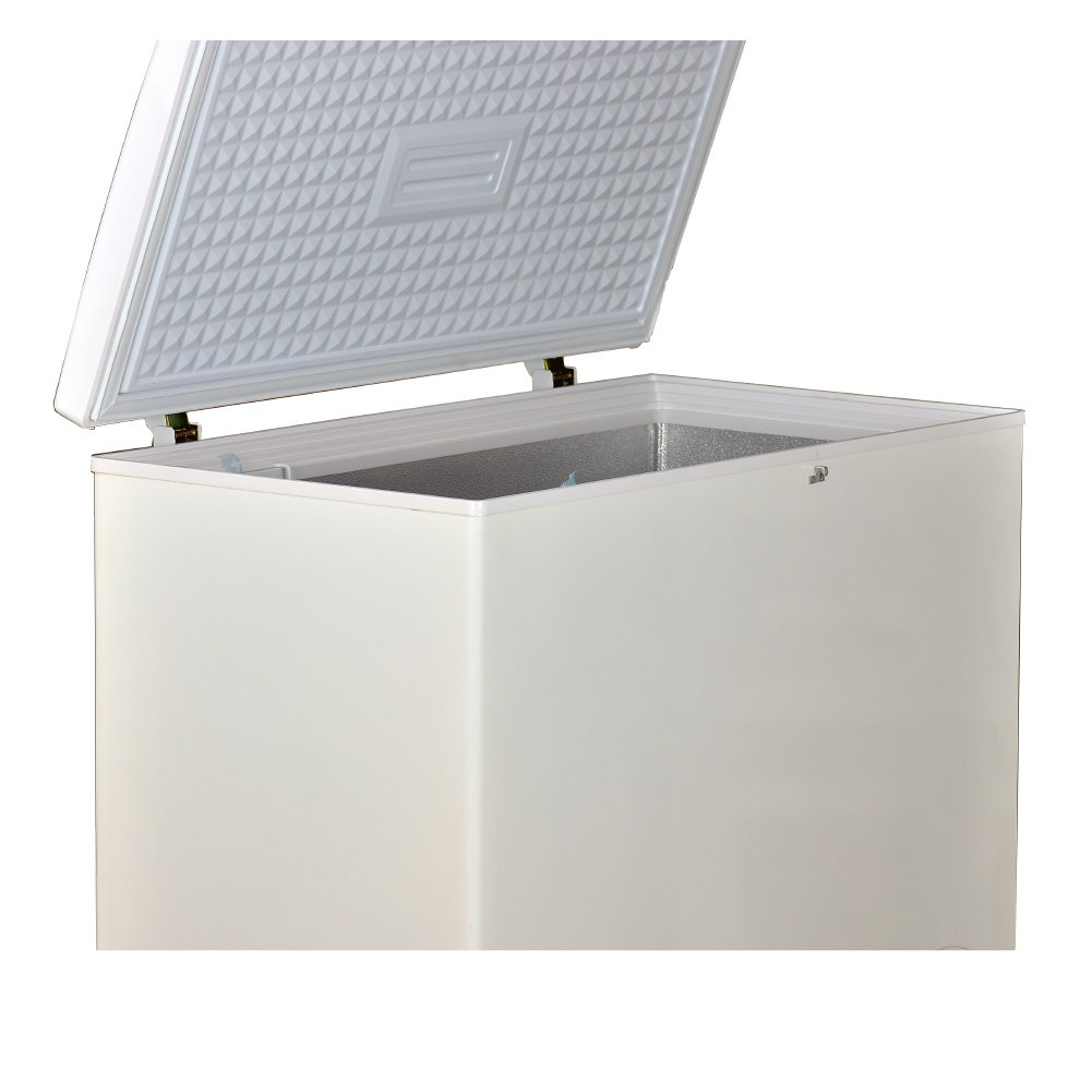 Smad Outdoor Home Solar Chest Freezer 8.3 Cubic Feet with AC power adopter by Smad