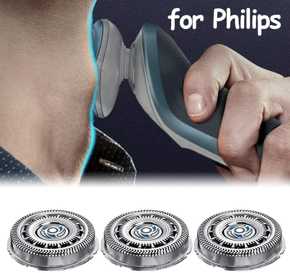 farmer-W Cuchilla de afeitar 3PCS compatible con Philips Norelco SH70 Series S7310 7370 7530 7720 7780 S7000, Repuestos Accesorios de afeitado Cabezal de afeitado de repuesto: Amazon.es: Belleza