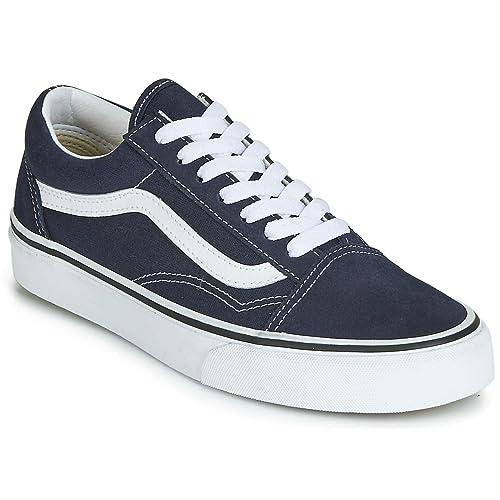Vans Old Skool ComfyCush Sneaker Herren dunkelblau weiß im
