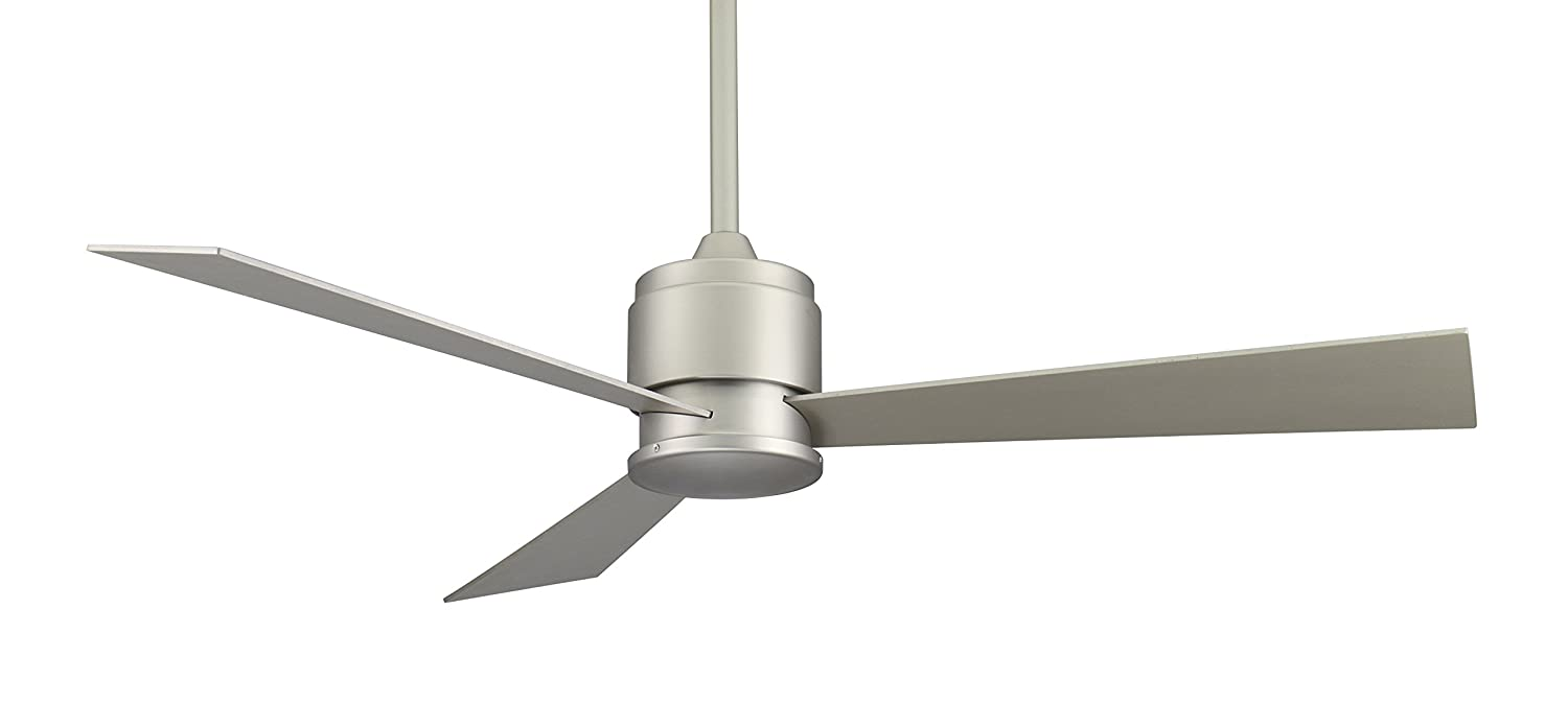 Fanimation Zonix 54 Inch Satin Nickel With Blades And Wall Control Fp4630sn Com