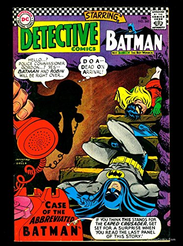 Detective Comics #360 VG/FN 5.0 Tongie Farm Collection Pedigree