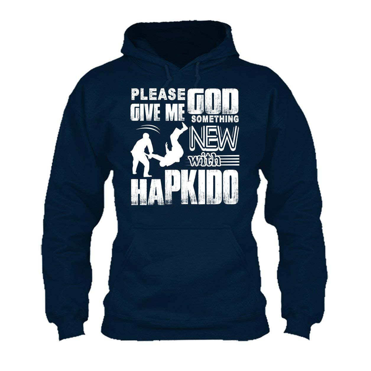 Long Sleeve Shirt Please God Give Me Something New Hapkido Tee Shirt Design