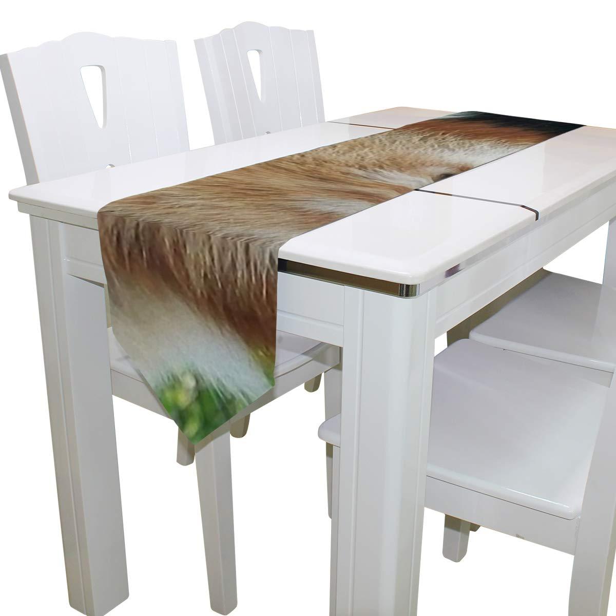 Dining Table Runner Or Dresser Scarf, Fort Wayne Children