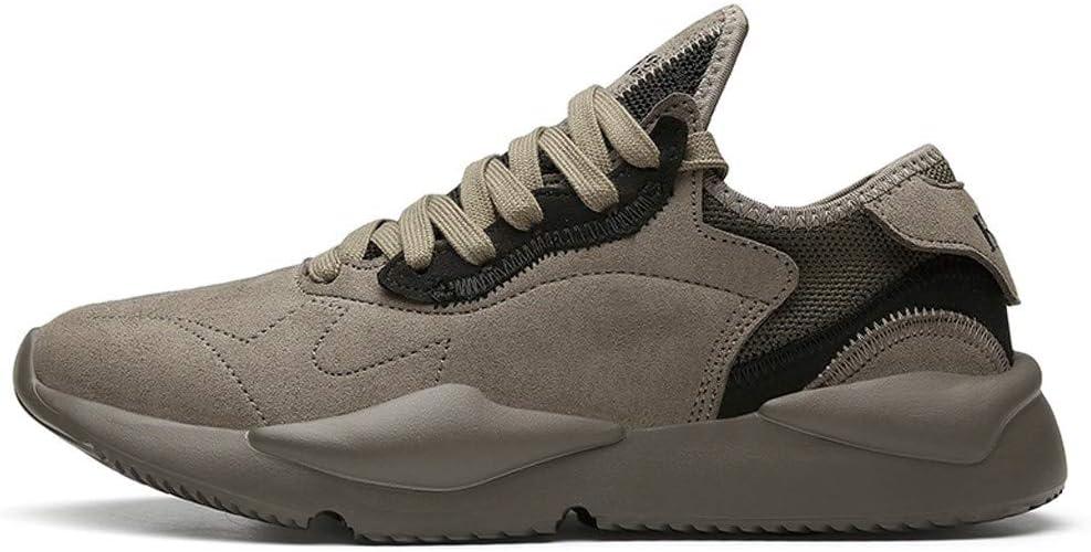 Zapatillas de Running para Hombre, Estilo Informal, para Caminar, para Hombre, Color Blanco y Beige, Color Verde, Talla 42 EU: Amazon.es: Zapatos y complementos