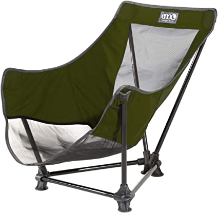 Amazon Com Eno Eagles Nest Outfitters Lounger Sl Camping Chair Outdoor Lounge Chair Olive Sports Outdoors