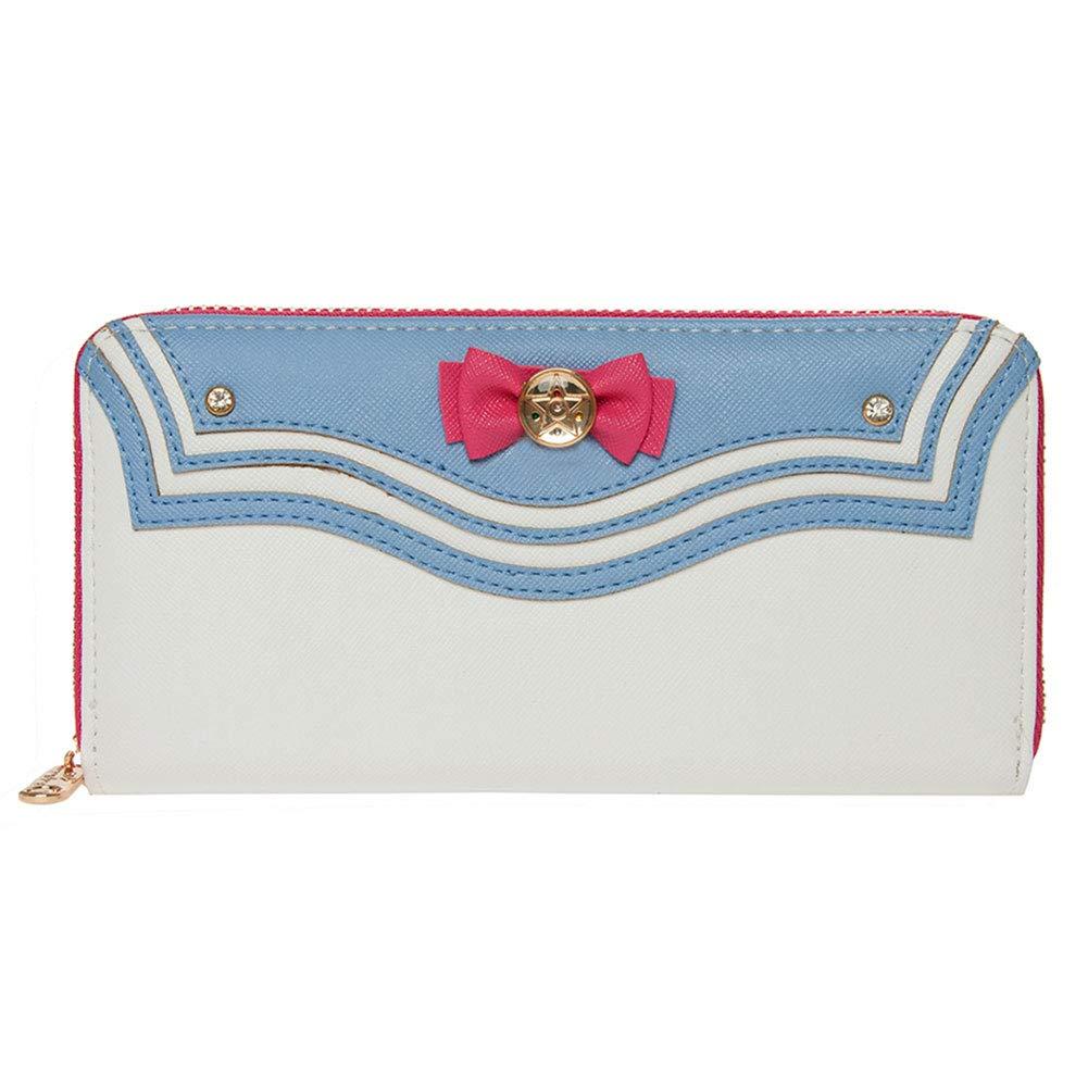Indressme Girls Cute Multi Card Case Full Round zipper Kawaii Gift Wallet