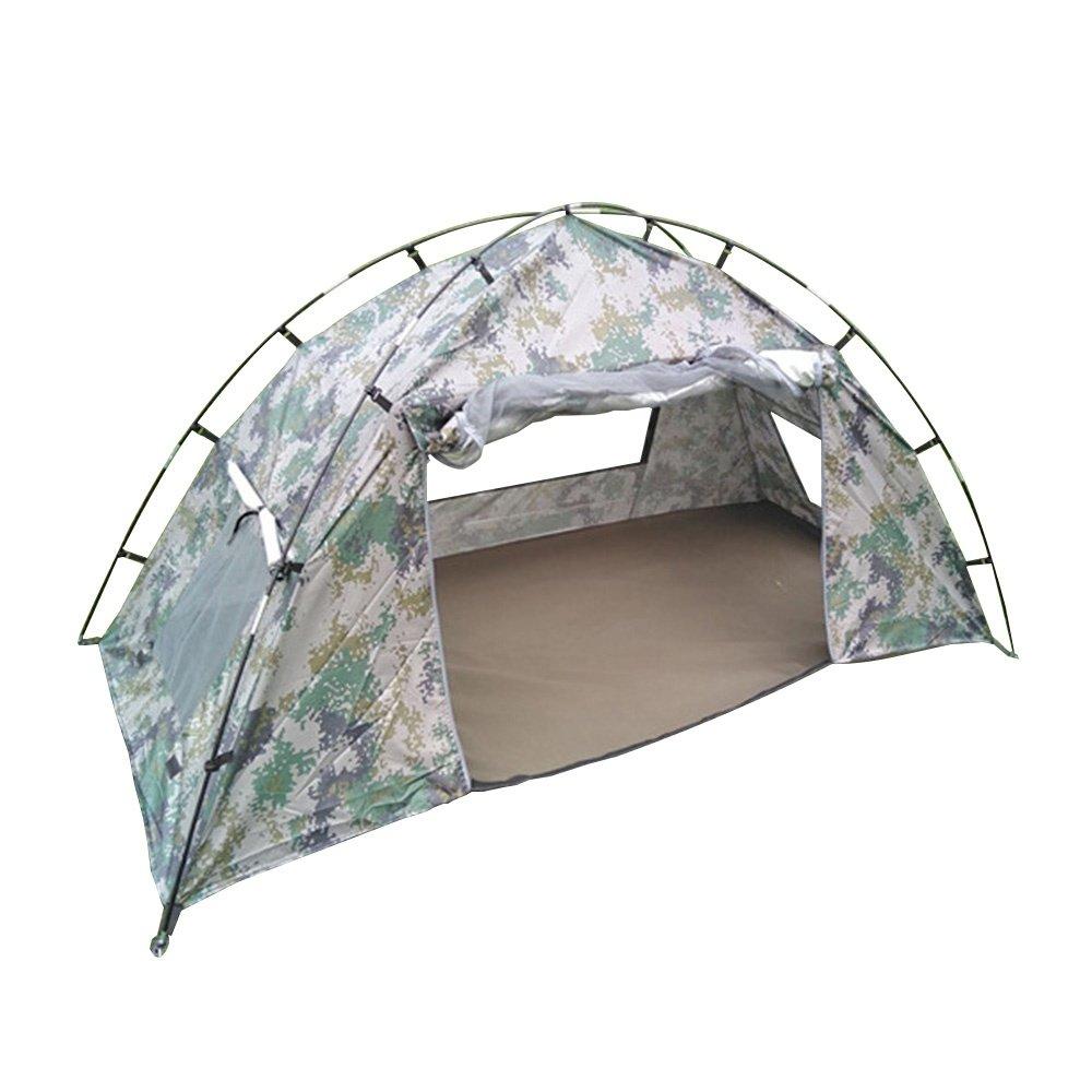 Enolla 3–4 Personenzelt, verhindert, DASS Regen Öffnung automatisch Outdoor Camping Trip Klettern, Gelb