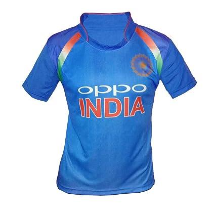 c4a7d5627825d Buy JS Indian Cricket Team ODI Jersey 2018-2019- (for Kids Men s ...