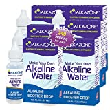 Alkazone Alkaline Water Drops Make Your Own Alkaline Water / Alkaline Booster Drop (6 Pack)