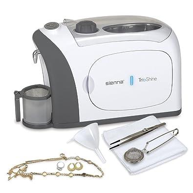 Amazon.com: TrioShine 3 en 1 limpiador de joyas ultrasónico ...