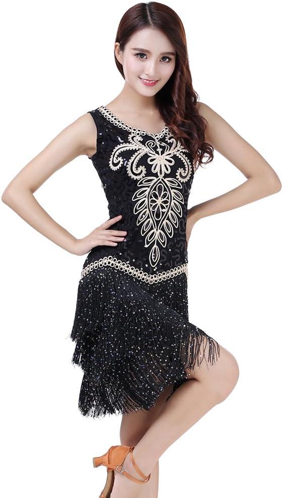 Xueyanwei Las Mujeres Clásicas Danza Latina Falda Tango Falda ...