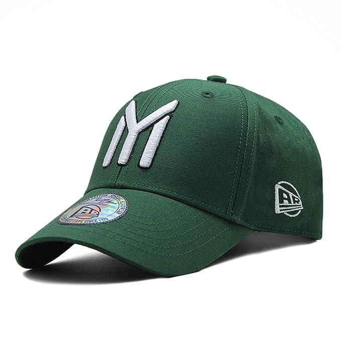 NAAO Cotton Letter Pattern Cap Mens Baseball Cap Women Dad Hat Gorras para Hombre Snapback Caps