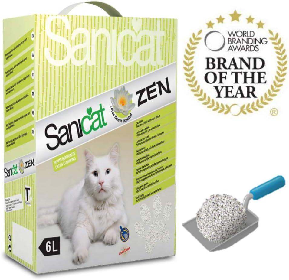 Sanicat Zen - Cat Litter, 6 Litros