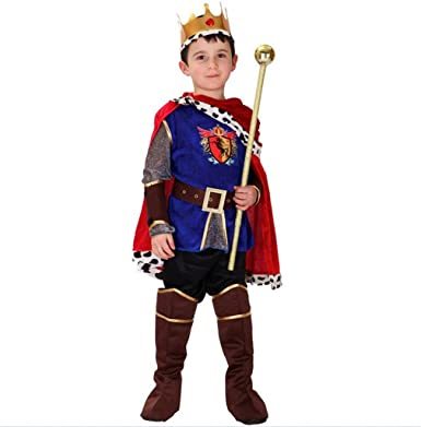 halloween dress up white horse prince costumes cos costume kids boys clothing