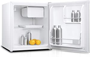 Impecca 1.7 Cu. Ft. Compact Refrigerator with Freezer and Reversible Single Door (White)