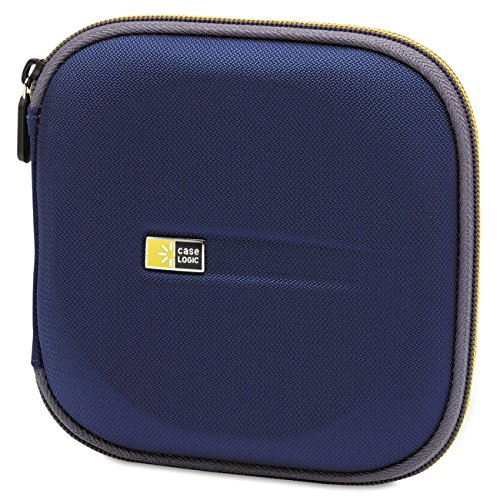 - Case Logic EVW-24 EVA Molded 24 Capacity CD/DVD Case (Blue)