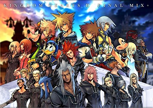 bribase shop Kingdom Hearts 2 3 Sora Organization XIII 13 Nice Silk Fabric Cloth Wall Poster Print (47x32inch) by bribase shop